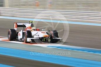 World © Octane Photographic Ltd. FIA Formula 2 (F2) - Qualifying. Alex Palou – Campos Racing. Abu Dhabi Grand Prix, Yas Marina Circuit. 24th November 2017. Digital Ref: