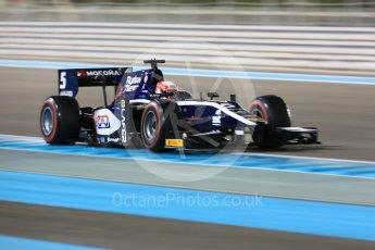 World © Octane Photographic Ltd. FIA Formula 2 (F2) - Qualifying. Luca Ghiotto – Russian Time. Abu Dhabi Grand Prix, Yas Marina Circuit. 24th November 2017. Digital Ref: