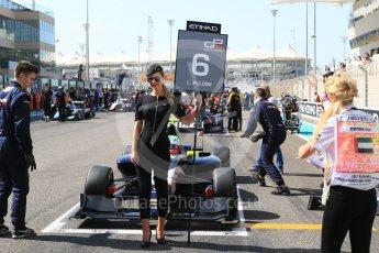 World © Octane Photographic Ltd. GP3 - Race 1. Leonardo Pulcini - Arden International. Abu Dhabi Grand Prix, Yas Marina Circuit. Saturday 25th November 2017. Digital Ref: