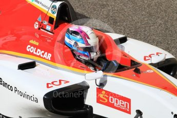 World © Octane Photographic Ltd. GP3 - Practice. Marcos Siebert – Campos Racing. Abu Dhabi Grand Prix, Yas Marina Circuit. Friday 24th November 2017. Digital Ref:1999CB1L5487