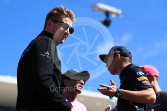 World © Octane Photographic Ltd. Formula 1 - American Grand Prix - Sunday - Drivers Parade. Nico Hulkenberg - Renault Sport F1 Team. Circuit of the Americas, Austin, Texas, USA. Sunday 22nd October 2017. Digital Ref: 1993LB1D8794