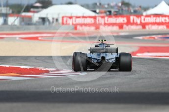 World © Octane Photographic Ltd. Formula 1 - American Grand Prix - Friday - Practice 2. Valtteri Bottas - Mercedes AMG Petronas F1 W08 EQ Energy+. Circuit of the Americas, Austin, Texas, USA. Friday 20th October 2017. Digital Ref: 1987LB1D4138