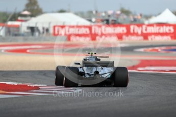 World © Octane Photographic Ltd. Formula 1 - American Grand Prix - Friday - Practice 2. Valtteri Bottas - Mercedes AMG Petronas F1 W08 EQ Energy+. Circuit of the Americas, Austin, Texas, USA. Friday 20th October 2017. Digital Ref: 1987LB1D4213
