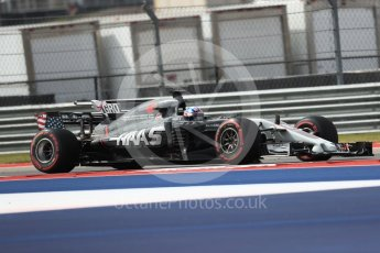 World © Octane Photographic Ltd. Formula 1 - American Grand Prix - Friday - Practice 2. Romain Grosjean - Haas F1 Team VF-17. Circuit of the Americas, Austin, Texas, USA. Friday 20th October 2017. Digital Ref: 1987LB1D4344