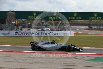 World © Octane Photographic Ltd. Formula 1 - American Grand Prix - Friday - Practice 2. Valtteri Bottas - Mercedes AMG Petronas F1 W08 EQ Energy+. Circuit of the Americas, Austin, Texas, USA. Friday 20th October 2017. Digital Ref: 1987LB2D6475