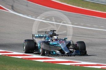 World © Octane Photographic Ltd. Formula 1 - American Grand Prix - Sunday - Race. Lewis Hamilton - Mercedes AMG Petronas F1 W08 EQ Energy+. Circuit of the Americas, Austin, Texas, USA. Sunday 22nd October 2017. Digital Ref: 1994LB1D0049