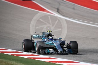 World © Octane Photographic Ltd. Formula 1 - American Grand Prix - Sunday - Race. Valtteri Bottas - Mercedes AMG Petronas F1 W08 EQ Energy+. Circuit of the Americas, Austin, Texas, USA. Sunday 22nd October 2017. Digital Ref: 1994LB1D0060