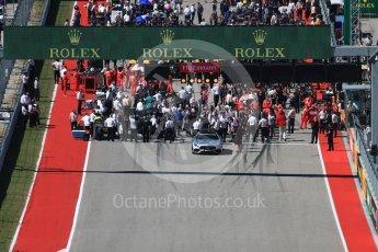 World © Octane Photographic Ltd. Formula 1 - American Grand Prix - Sunday - Race. Lewis Hamilton - Mercedes AMG Petronas F1 W08 EQ Energy+ on pole. Circuit of the Americas, Austin, Texas, USA. Sunday 22nd October 2017. Digital Ref: 1994LB1D9535