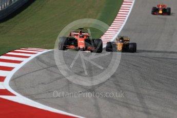 World © Octane Photographic Ltd. Formula 1 - American Grand Prix - Sunday - Race. Fernando Alonso - McLaren Honda MCL32. Circuit of the Americas, Austin, Texas, USA. Sunday 22nd October 2017. Digital Ref: 1994LB1D9576