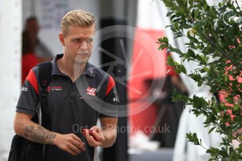 World © Octane Photographic Ltd. Formula 1 - American Grand Prix - Saturday - Paddock. Kevin Magnussen - Haas F1 Team VF-17. Circuit of the Americas, Austin, Texas, USA. Saturday 21st October 2017. Digital Ref: 1989LB1D5450