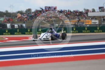 World © Octane Photographic Ltd. Formula 4 – F4 United States Championship - American Grand Prix – Race 1. Circuit of the Americas (COTA), Austin, Texas, USA. Saturday 21st October 2017. Blake Mount - JDX Racing. Digital Ref:1982LB1D6796