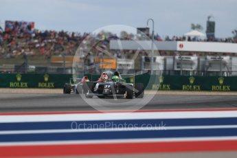World © Octane Photographic Ltd. Formula 4 – F4 United States Championship - American Grand Prix – Race 1. Circuit of the Americas (COTA), Austin, Texas, USA. Saturday 21st October 2017. Justin Sirgany - Global Racing Group. Digital Ref:1982LB1D6851