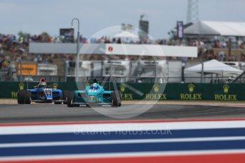 World © Octane Photographic Ltd. Formula 4 – F4 United States Championship - American Grand Prix – Race 1. Circuit of the Americas (COTA), Austin, Texas, USA. Saturday 21st October 2017. Jordan Sherratt - Crosslink Racing. Digital Ref:1982LB1D6883