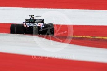 World © Octane Photographic Ltd. Formula 1 - Austria Grand Prix - Saturday - Qualifying. Carlos Sainz - Scuderia Toro Rosso STR12. Red Bull Ring, Spielberg, Austria. Saturday 8th July 2017. Digital Ref: 1869LB1D2528