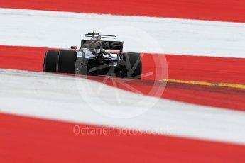 World © Octane Photographic Ltd. Formula 1 - Austria Grand Prix - Saturday - Qualifying. Kevin Magnussen - Haas F1 Team VF-17. Red Bull Ring, Spielberg, Austria. Saturday 8th July 2017. Digital Ref: 1869LB1D2626