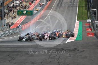 World © Octane Photographic Ltd. Formula 1 - Austria Grand Prix - Sunday - Race. Romain Grosjean - Haas F1 Team VF-17. Red Bull Ring, Spielberg, Austria. Sunday 9th July 2017. Digital Ref: 1875LB1D4834
