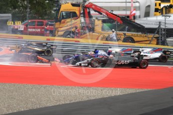 World © Octane Photographic Ltd. Formula 1 - Austria Grand Prix - Sunday - Race. Kevin Magnussen - Haas F1 Team VF-17. Red Bull Ring, Spielberg, Austria. Sunday 9th July 2017. Digital Ref: 1875LB1D4869