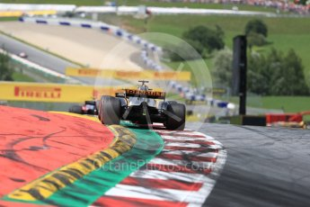 World © Octane Photographic Ltd. Formula 1 - Austria Grand Prix - Sunday - Race. Nico Hulkenberg - Renault Sport F1 Team R.S.17. Red Bull Ring, Spielberg, Austria. Sunday 9th July 2017. Digital Ref: 1875LB1D5173