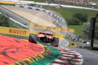 World © Octane Photographic Ltd. Formula 1 - Austria Grand Prix - Sunday - Race. Kimi Raikkonen - Scuderia Ferrari SF70H. Red Bull Ring, Spielberg, Austria. Sunday 9th July 2017. Digital Ref: 1875LB1D5229