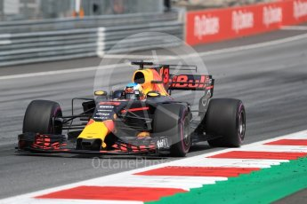 World © Octane Photographic Ltd. Formula 1 - Austria Grand Prix - Sunday - Race. Daniel Ricciardo - Red Bull Racing RB13. Red Bull Ring, Spielberg, Austria. Sunday 9th July 2017. Digital Ref: 1875LB1D5529