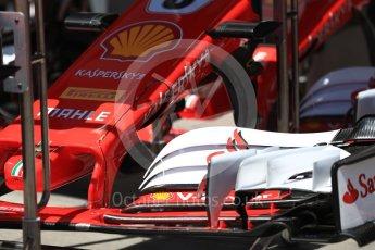 World © Octane Photographic Ltd. Formula 1 - Austria Grand Prix - Thursday - Pit Lane. Scuderia Ferrari SF70H. Red Bull Ring, Spielberg, Austria. Thursday 6th July 2017. Digital Ref: 1861LB1D8974
