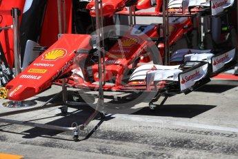 World © Octane Photographic Ltd. Formula 1 - Austria Grand Prix - Thursday - Pit Lane. Scuderia Ferrari SF70H. Red Bull Ring, Spielberg, Austria. Thursday 6th July 2017. Digital Ref: 1861LB1D8978