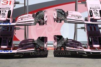 World © Octane Photographic Ltd. Formula 1 - Austria Grand Prix - Thursday - Pit Lane. Sahara Force India VJM10. Red Bull Ring, Spielberg, Austria. Thursday 6th July 2017. Digital Ref: 1861LB1D9016