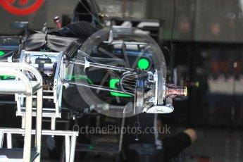 World © Octane Photographic Ltd. Formula 1 - Austria Grand Prix - Thursday - Pit Lane. Haas F1 Team VF-17. Red Bull Ring, Spielberg, Austria. Thursday 6th July 2017. Digital Ref: 1861LB1D9106