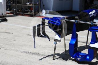 World © Octane Photographic Ltd. Formula 1 - Austria Grand Prix - Thursday - Pit Lane. Sauber F1 Team C36. Red Bull Ring, Spielberg, Austria. Thursday 6th July 2017. Digital Ref: 1861LB1D9139