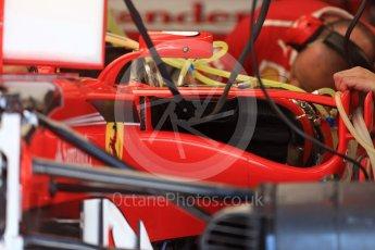 World © Octane Photographic Ltd. Formula 1 - Austria Grand Prix - Thursday - Pit Lane. Scuderia Ferrari SF70H. Red Bull Ring, Spielberg, Austria. Thursday 6th July 2017. Digital Ref: 1861LB2D4173