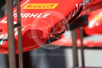 World © Octane Photographic Ltd. Formula 1 - Austria Grand Prix - Thursday - Pit Lane. Scuderia Ferrari SF70H. Red Bull Ring, Spielberg, Austria. Thursday 6th July 2017. Digital Ref: 1861LB2D4210