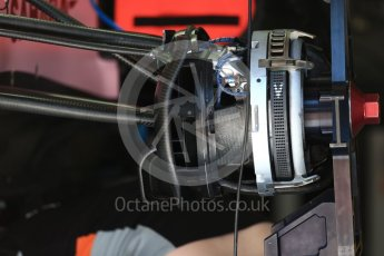 World © Octane Photographic Ltd. Formula 1 - Austria Grand Prix - Thursday - Pit Lane. Sahara Force India VJM10. Red Bull Ring, Spielberg, Austria. Thursday 6th July 2017. Digital Ref: 1861LB2D4244