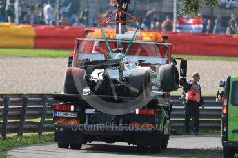 World © Octane Photographic Ltd. Formula 1 - Belgian Grand Prix - Friday - Practice 1. Felipe Massa - Williams Martini Racing FW40. Circuit de Spa Francorchamps, Belgium. Friday 25th August 2017. Digital Ref:1922LB1D4981