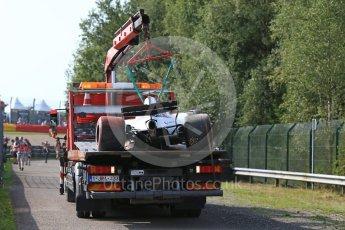 World © Octane Photographic Ltd. Formula 1 - Belgian Grand Prix - Friday - Practice 1. Felipe Massa - Williams Martini Racing FW40. Circuit de Spa Francorchamps, Belgium. Friday 25th August 2017. Digital Ref:1922LB2D5644