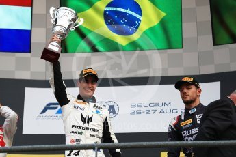 World © Octane Photographic Ltd. FIA Formula 2 (F2) - Race 2. Sergio Sette Camara – MP Motorsport. Belgian Grand Prix, Spa Francorchamps, Belgium. Sunday August 27th 2017. Digital Ref:1926LB1D7969
