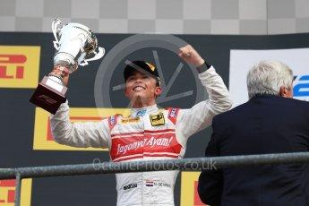 World © Octane Photographic Ltd. FIA Formula 2 (F2) - Race 2. Nyck de Vries – Racing Engineering. Belgian Grand Prix, Spa Francorchamps, Belgium. Sunday August 27th 2017. Digital Ref:1926LB1D7976