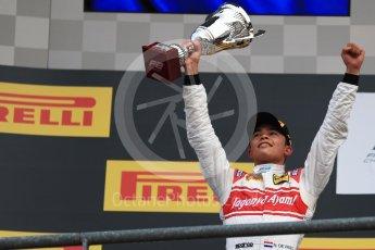 World © Octane Photographic Ltd. FIA Formula 2 (F2) - Race 2. Nyck de Vries – Racing Engineering. Belgian Grand Prix, Spa Francorchamps, Belgium. Sunday August 27th 2017. Digital Ref:1926LB1D7988