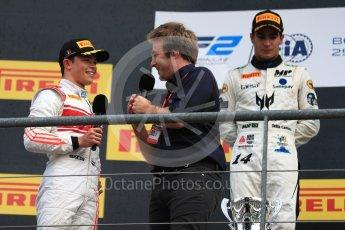 World © Octane Photographic Ltd. FIA Formula 2 (F2) - Race 2. Nyck de Vries – Racing Engineering. Belgian Grand Prix, Spa Francorchamps, Belgium. Sunday August 27th 2017. Digital Ref:1926LB1D8078