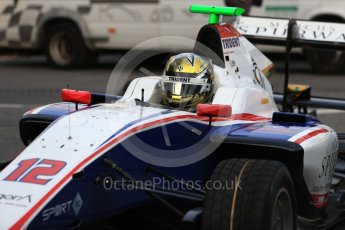 World © Octane Photographic Ltd. GP3 - Practice session. Dorian Boccolacci – Trident. Belgian Grand Pix - Spa Francorchamps, Belgium. Friday 25th August 2017. Digital Ref: 1920LB1D4709