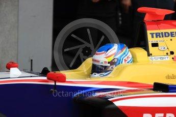 World © Octane Photographic Ltd. GP3 - Race 2. Ryan Tveter – Trident. Belgian Grand Pix - Spa Francorchamps, Belgium. Sunday 27th August 2017. Digital Ref: 1930LB1D7595