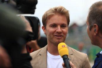 World © Octane Photographic Ltd. Formula 1 - British Grand Prix - Sunday - Grid. Nico Rosberg. Silverstone, UK. Sunday 16th July 2017. Digital Ref: 1891LB1D3652