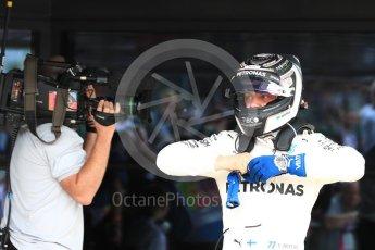 World © Octane Photographic Ltd. Formula 1 - British Grand Prix - Sunday - Race Podium. Valtteri Bottas - Mercedes AMG Petronas F1 W08 EQ Energy+. Silverstone, UK. Sunday 16th July 2017. Digital Ref: 1893LB1D4268