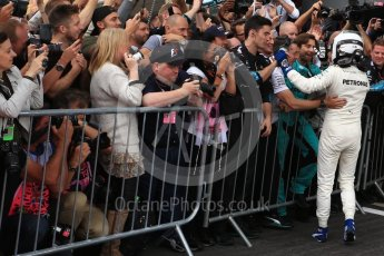 World © Octane Photographic Ltd. Formula 1 - British Grand Prix - Sunday - Race Podium. Valtteri Bottas - Mercedes AMG Petronas F1 W08 EQ Energy+. Silverstone, UK. Sunday 16th July 2017. Digital Ref: 1893LB2D0228