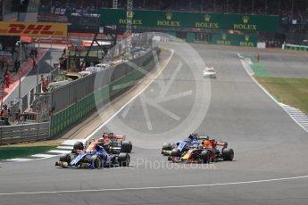 World © Octane Photographic Ltd. Formula 1 - British Grand Prix - Sunday - Race. Marcus Ericsson – Sauber F1 Team C36. Silverstone, UK. Sunday 16th July 2017. Digital Ref: 1892LB1D3878