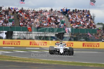 World © Octane Photographic Ltd. Formula 1 - British Grand Prix - Sunday - Race. Felipe Massa - Williams Martini Racing FW40. Silverstone, UK. Sunday 16th July 2017. Digital Ref: 1892LB1D4183
