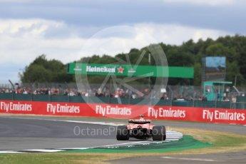World © Octane Photographic Ltd. Formula 1 - British Grand Prix - Sunday - Race. Kimi Raikkonen - Scuderia Ferrari SF70H. Silverstone, UK. Sunday 16th July 2017. Digital Ref: 1892LB1D4226