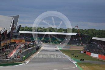 World © Octane Photographic Ltd. Formula 1 - British Grand Prix - Sunday - Race. Lewis Hamilton - Mercedes AMG Petronas F1 W08 EQ Energy+. Silverstone, UK. Sunday 16th July 2017. Digital Ref: 1892LB2D0011