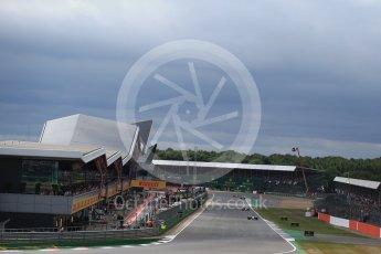 World © Octane Photographic Ltd. Formula 1 - British Grand Prix - Sunday - Race. Lewis Hamilton - Mercedes AMG Petronas F1 W08 EQ Energy+. Silverstone, UK. Sunday 16th July 2017. Digital Ref: 1892LB2D0016