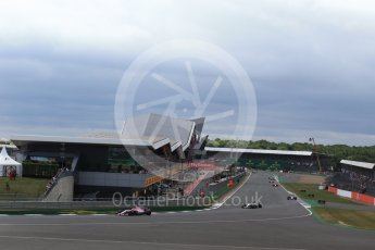 World © Octane Photographic Ltd. Formula 1 - British Grand Prix - Sunday - Race. Esteban Ocon - Sahara Force India VJM10. Silverstone, UK. Sunday 16th July 2017. Digital Ref: 1892LB2D0040