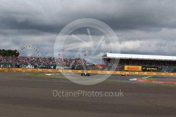 World © Octane Photographic Ltd. Formula 1 - British Grand Prix - Sunday - Race. Lewis Hamilton - Mercedes AMG Petronas F1 W08 EQ Energy+. Silverstone, UK. Sunday 16th July 2017. Digital Ref: 1892LB2D0122